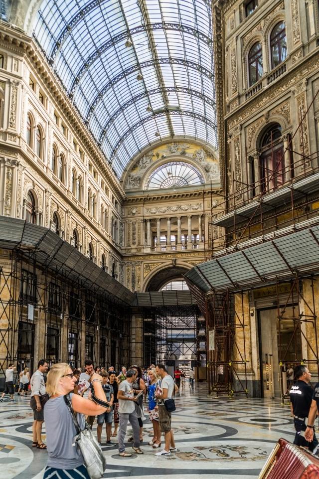 Galeria Umberto - Neapol