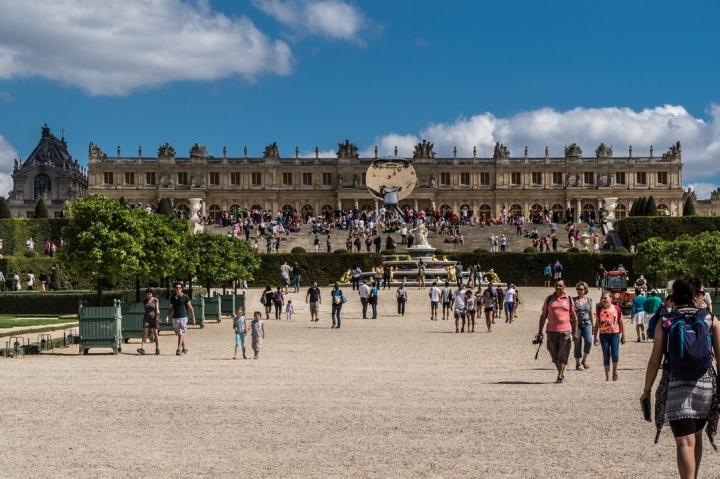 Paryż Wersal - Ogrody