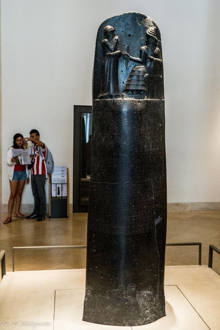 Paryż Luwr - Kodeks Hammurabiego