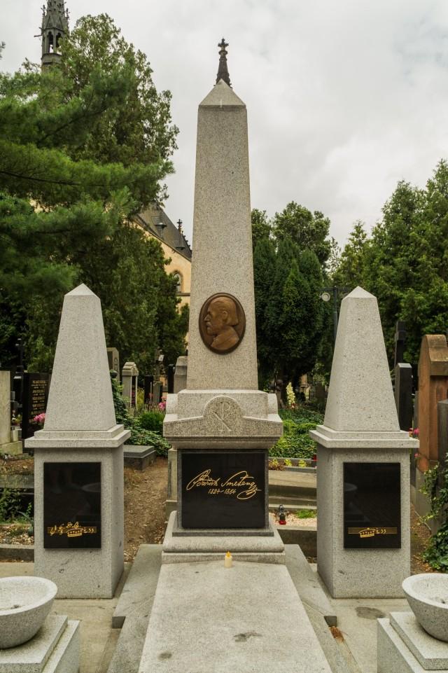 bedrich smetana - grób