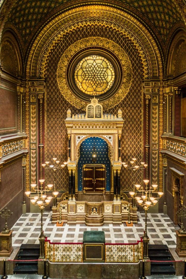 Praga - Synagoga Hiszpańska