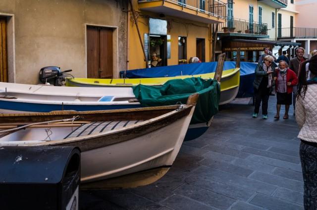 łódki w manaroli