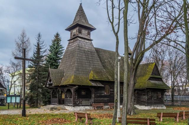 Kościół w stylu zakopiańskim