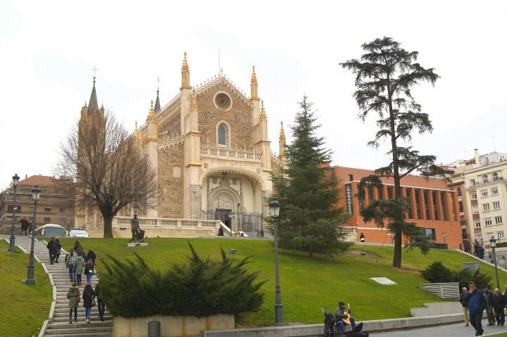 Kościół św Hieronima w Madrycie