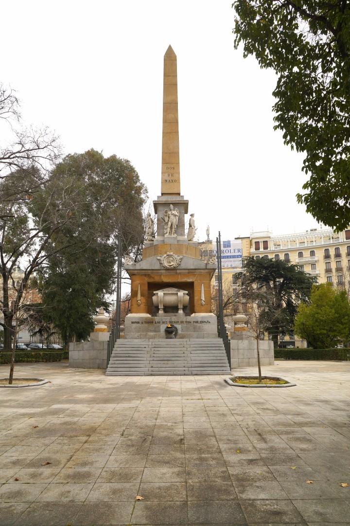 Pomnik Dos de Mayo w Madrycie
