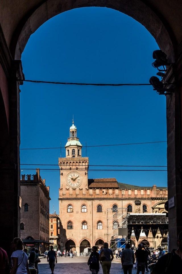 Ratusz w Bolonii