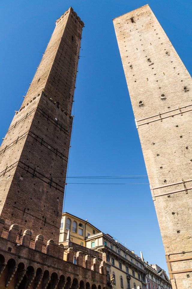 Wieże w Bolonii