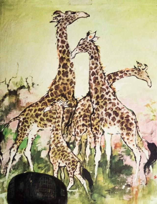Grafika Żyrafy