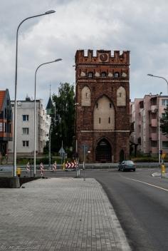 Malbork - brama Mariacka