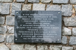 Malbork - miejsce pochówku ponad 2000 Niemców (1945r.)