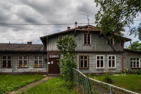 Malbork - okolice dworca PKP