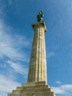 Kalemegdan - pomnik alegorii wojny i pokoju