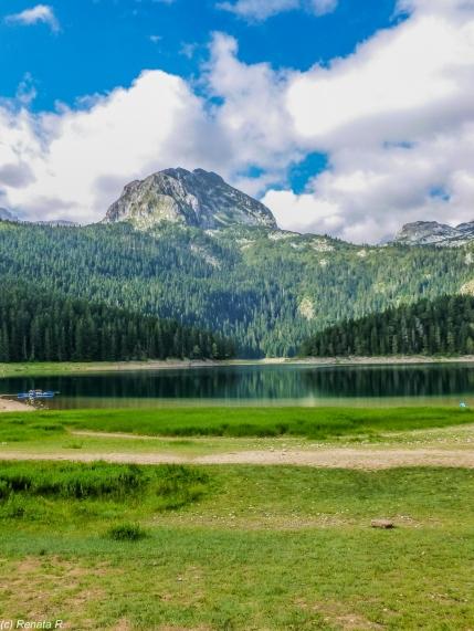 Góry Durmitor - Czarny Staw