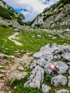 Góry Durmitor - oznaczenie szlaku