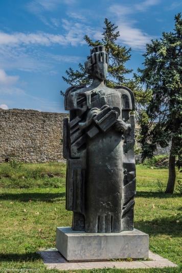 Kalemegdan - pomnik w parku