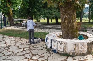 Cetynia - uliczna straganiarka