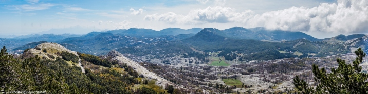 Jezerski Vrh - panorama gór