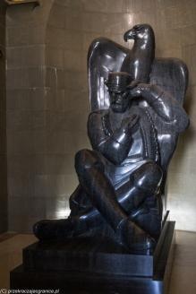 Jezerski Vrh - posąg