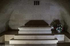 Jezerski Vrh - wnętrza mauzoleum