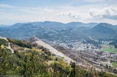 Jezerski Vrh - widok z drogi na szczyt
