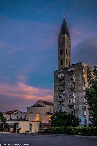 Mostar - zachód słońca