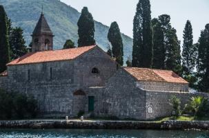Kotor - klasztor św. Jerzego