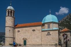 Kotor - kościół Matki Bożej na Skale