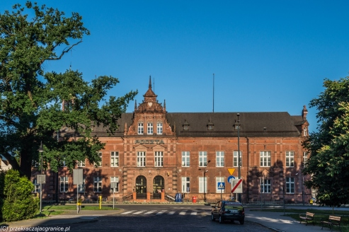 Elbląg - budynek Poczty Polskiej