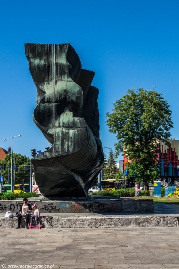 Elbląg - Pomnik Odrodzenia