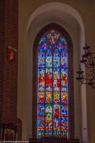 Elbląg - Katedra św. Mikołaja, witraż
