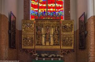 Elbląg - Katedra św. Mikołaja, ołtarz boczny