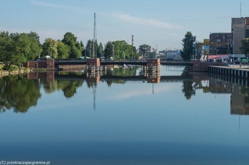 Elbląg - widok na Most Niski