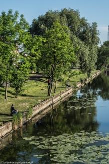 Elbląg - spacer nad rzeką