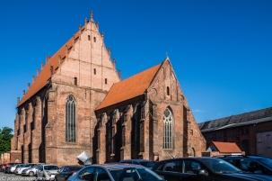 Elbląg - Galeria EL, kościół NMP
