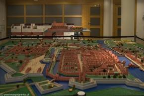 Elbląg - makieta miasta