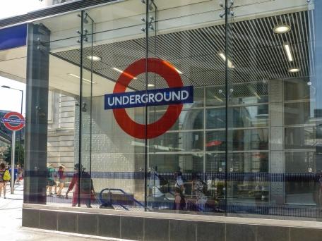 Londyn - stacja metra