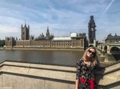 Londyn - Big Ben & Renia