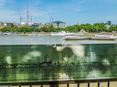 Londyn - nadbrzeże Tamizy