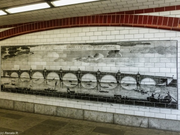 Londyn - historia Blackfriars Bridge