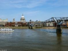 Londyn - Millennium Bridge