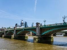 Londyn - Southwark Bridge