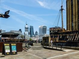 Londyn - Golden Hinde museum