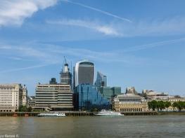 Londyn - widok na City
