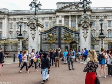 Londyn - Pałac Buckingham