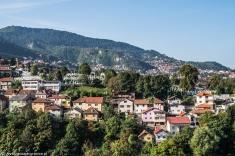 Sarajewo - widok na miasto