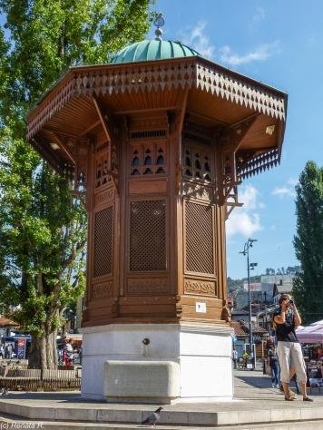 Sarajewo - Bascarsija, studnia miejska