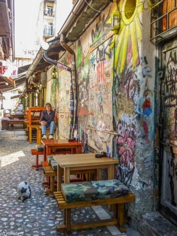 Sarajewo - Bascarsija, graffiti