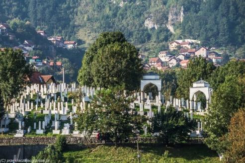 Sarajewo - cmentarz Alifakovac