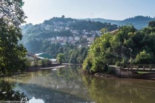 Sarajewo - rzeka Miljacka