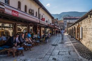 Sarajewo - ulice miejskie